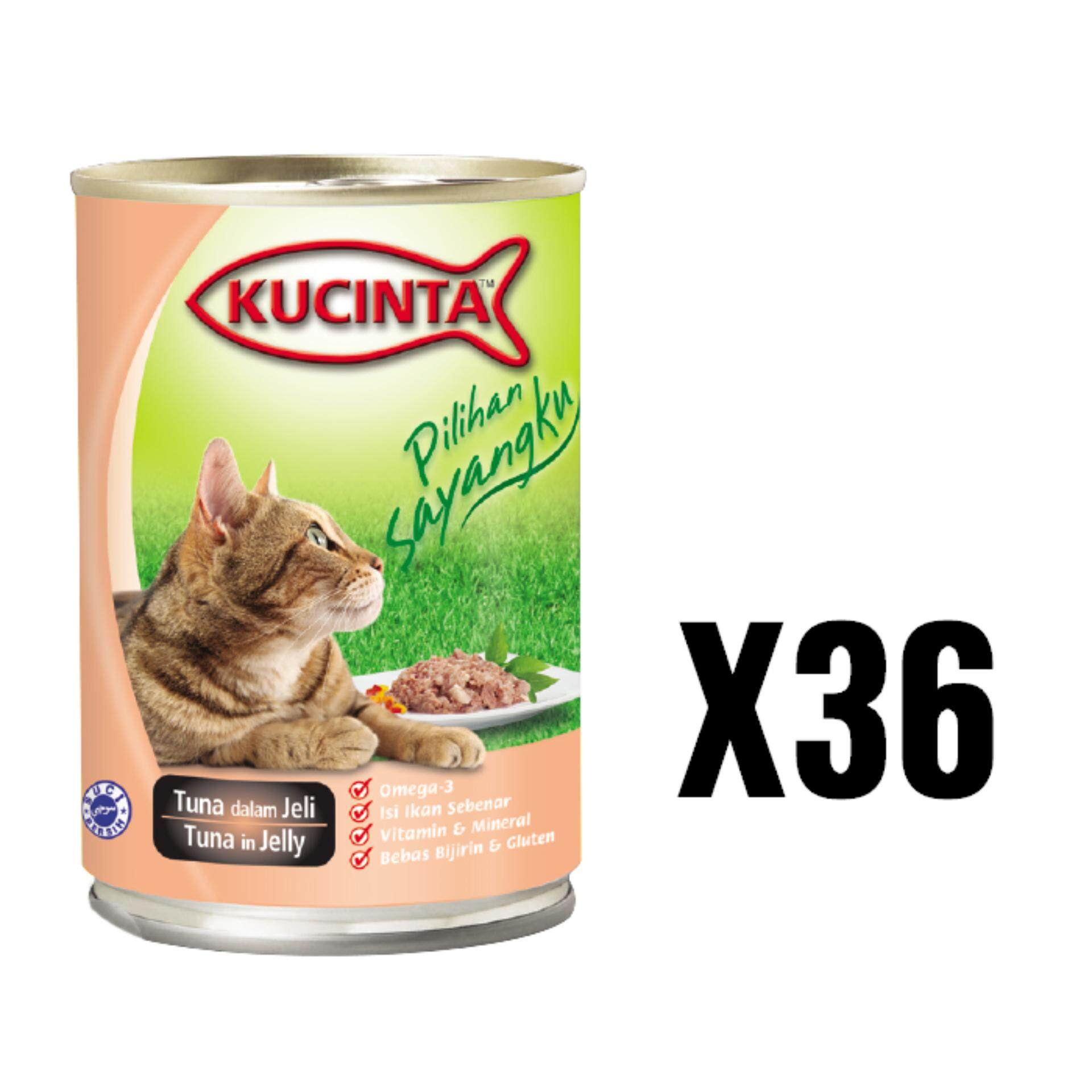 Kucinta Tuna in Jelly Canned Food 400G