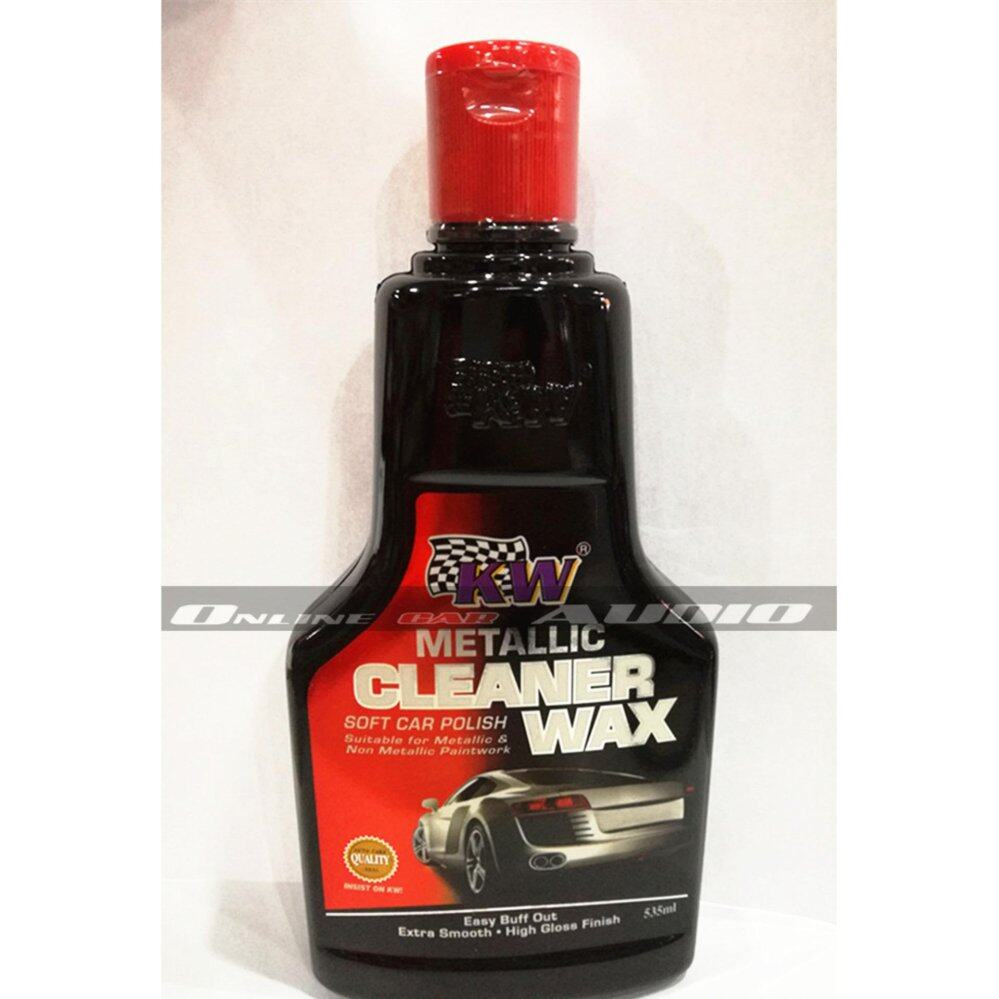 KW 1x Headlamp polish,1x Metallic Cleaner Wax (2item in package)