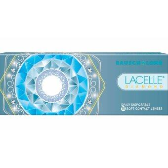 Harga Lacelle Champagne Brown Diamond Color Contact Lens 10s (-2.50)