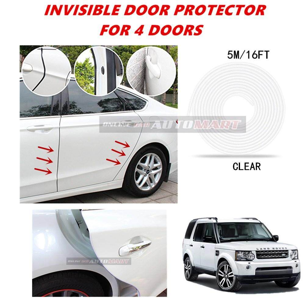 Land Rover Discovery - 16FT/5M (CLEAR) Moulding Trim Rubber Strip Auto Door Scratch Protector Car Styling Invisible Decorative Tape (4 Doors)