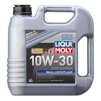liqui moly semi synthetic mos2 leichtlauf 10w30 4l engine. Black Bedroom Furniture Sets. Home Design Ideas