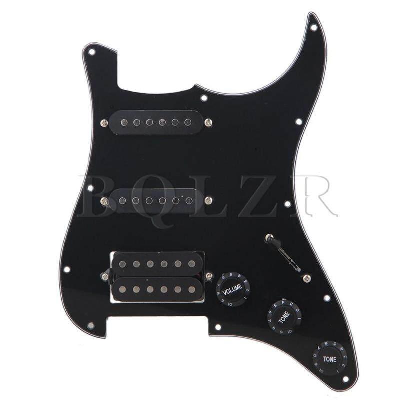 Loaded Pickguard SSH For Guitar Black Malaysia