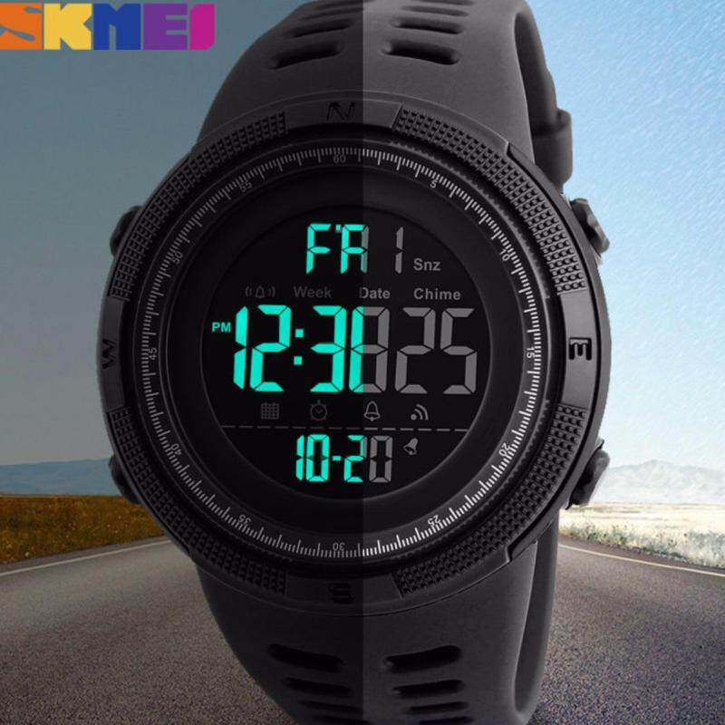 [Local Shipping] SKMEI Mens Multifunction Digital Outdoor Smart Sport Watch Malaysia