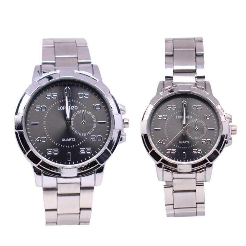 Lorenzo Exclusive Couple Set Watch 2pcs (LRZSL01-0506) Malaysia