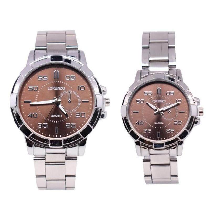 Lorenzo Exclusive Couple Set Watch 2pcs (LRZSL01_0708) Malaysia