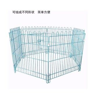 Loss dog fence dog iron fence pet dog cage Teddy puppy small dog in type dog training toilet