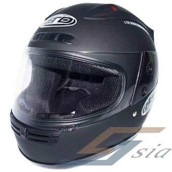 Harga LTD Full Face RAM Solid Helmet (Matt Black)