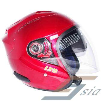 Harga LTD Infinity Avent Double Visor Helmet (Red)