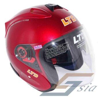 Harga LTD Infinity RAM Double Visor Helmet (Red)