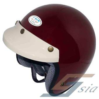 Harga LTD Polycarbonate Racing Spirit Helmet (Cherry Red)