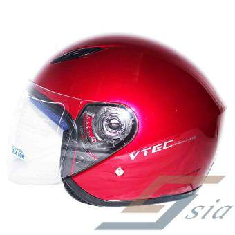 LTD VTEC Mono Helmet (Red) - 3