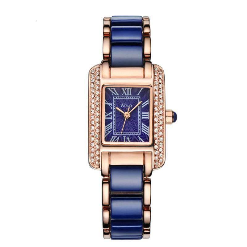 Luxury Jewelry Ladies Quartz Watch Dress Fashion Casual Women Watches Roman Numerals Rhinestone Bracelets Watches Malaysia