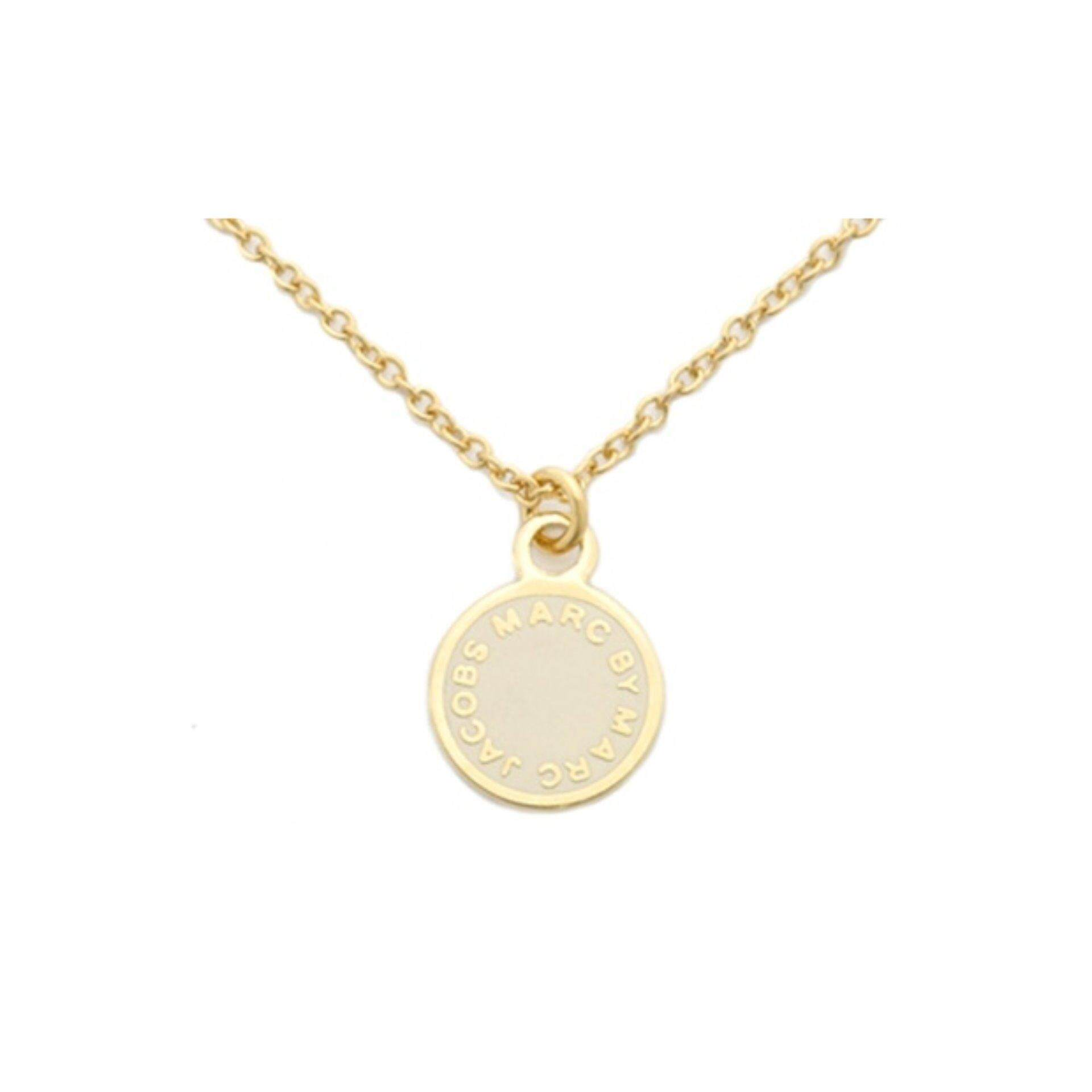 M.J. Disc Pendant and Necklace Set ( Usual price RM159)