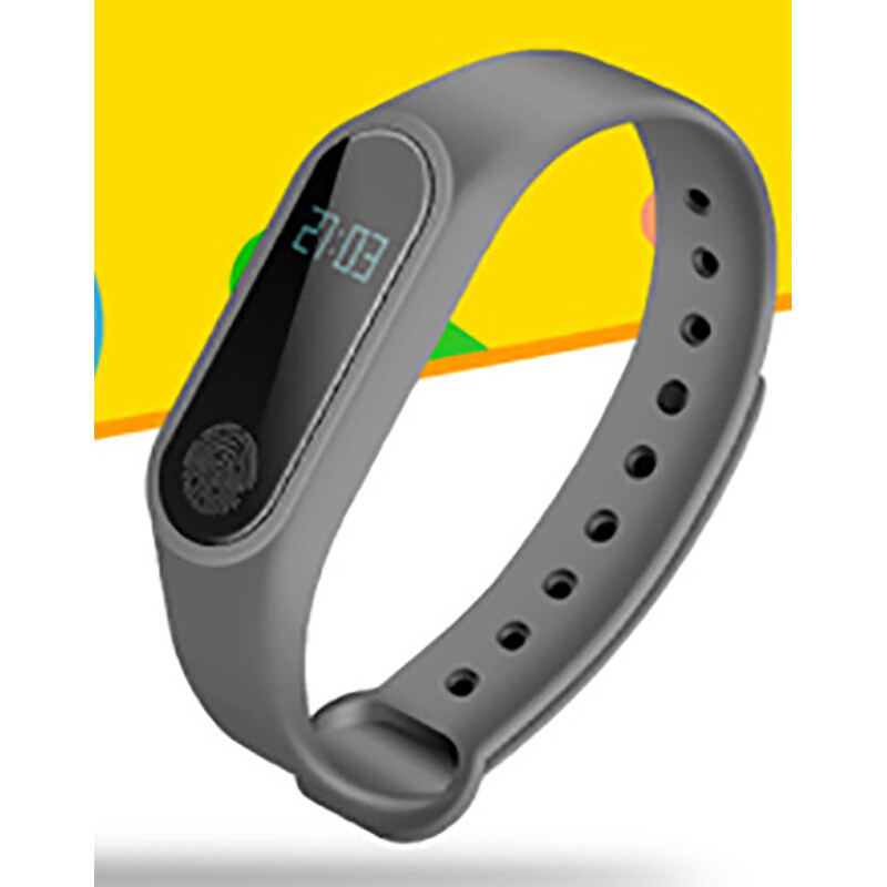 M2 watch pedometer for mi bands 2 wristband itness bracelet pedometer language english smart band heart rate monitor Malaysia