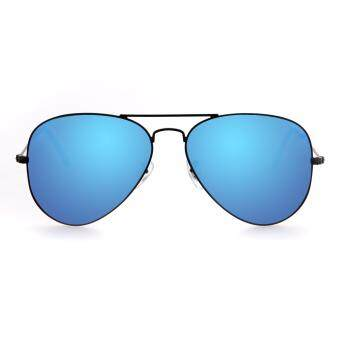 MADDOX Unisex Gradient Blue Aviator Sunglasses HE5001 C10