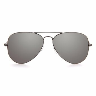 MADDOX Unisex Grey Aviator Sunglasses HE5001 C7