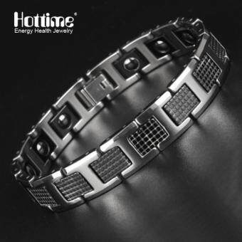 Magnetic Silver Tungsten Energy Magnet Powerful Bracelet Health BioCuff