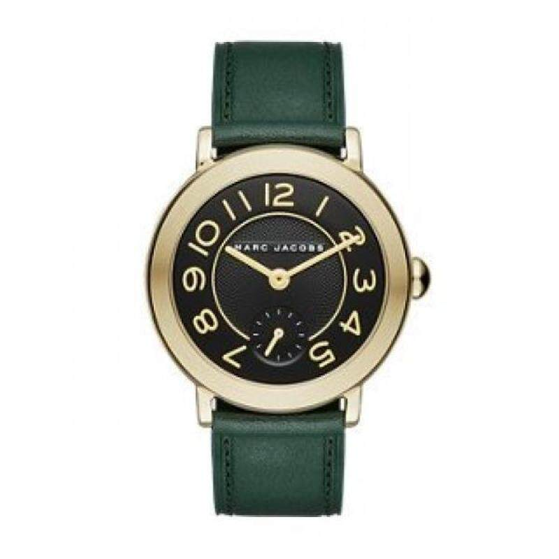 Marc Jacobs Womens Riley Green Leather Watch - MJ1469 Malaysia