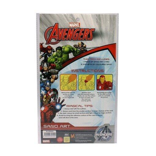 Marvel Avengers Assemble Sand Art - Multicolour