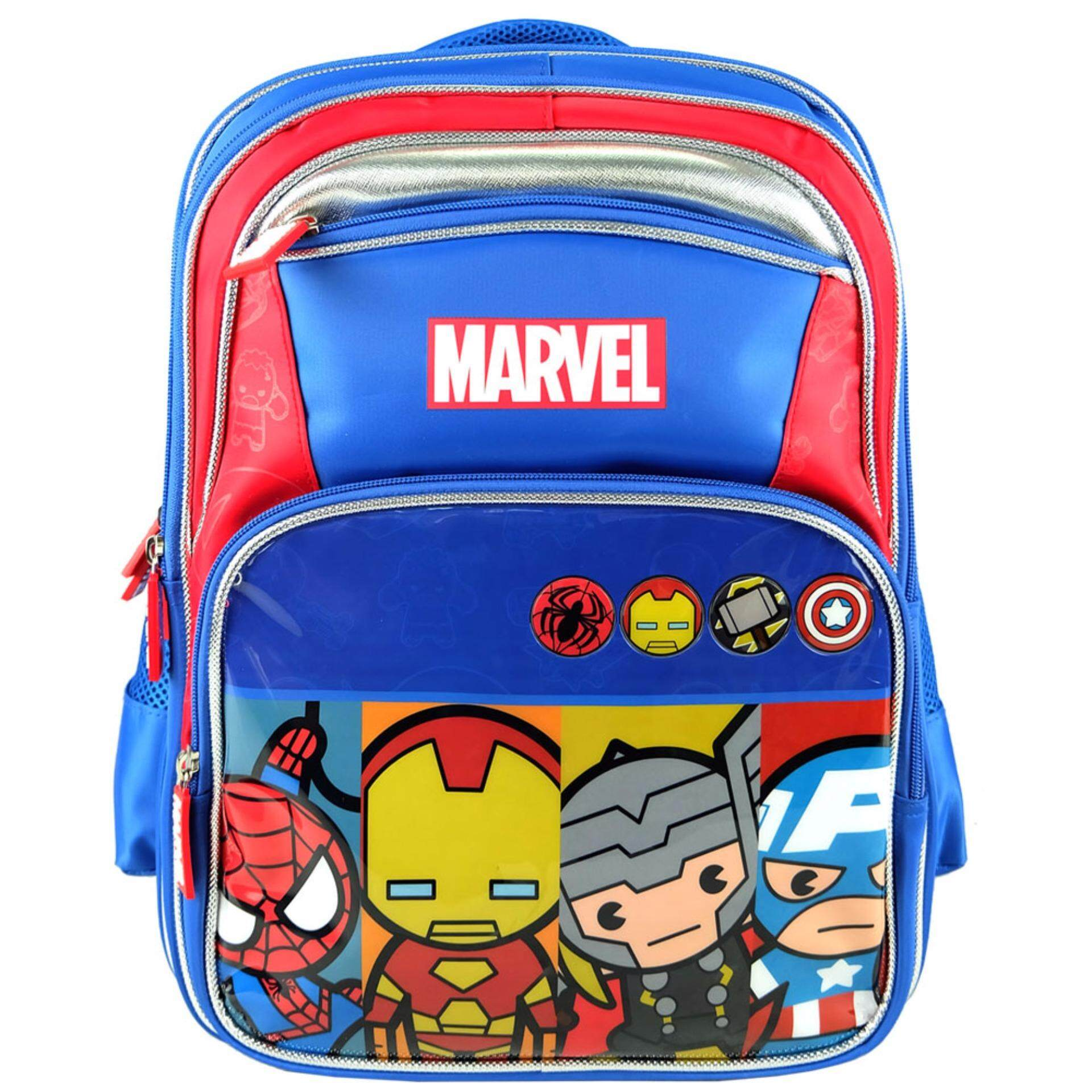 ed09b37c57 Marvel Avengers 16 inch Kawaii Heroes School Bag VKS1723