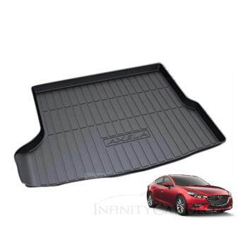 Harga Mazda 3 Sedan 2015 High Quality ABS Anti Non Slip Rear Trunk Boot Cargo Tray