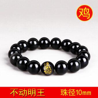 Men women's Zodiac natal Buddha prayer beads bracelet