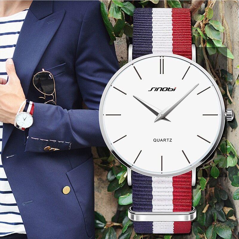 Mens watch mens watch simple nylon aliexpress hot explosion models when Kenobi upgraded version 9140 Malaysia