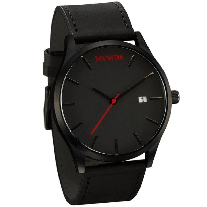 Mens Black Wrist Watch Retro Style Malaysia