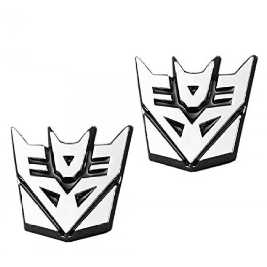 3D Transformer Decepticon Emblem Logo Sticker by Red Bow Store (33157323). Source · Rp 1.080.000