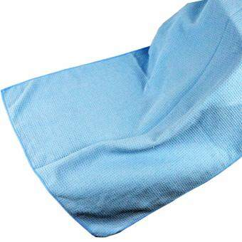 Harga Microfiber Drying Towel 80x60cm Blue