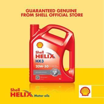Mineral Shell Helix HX3 SL 20W-50 (4L)