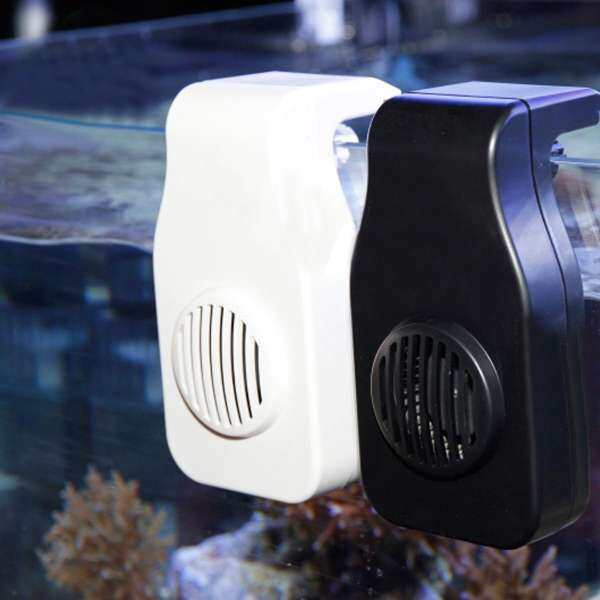 welovestore Mini nano cooling fan hang on clip USB charge aquarium Fish Tank Cold Chiller - intl
