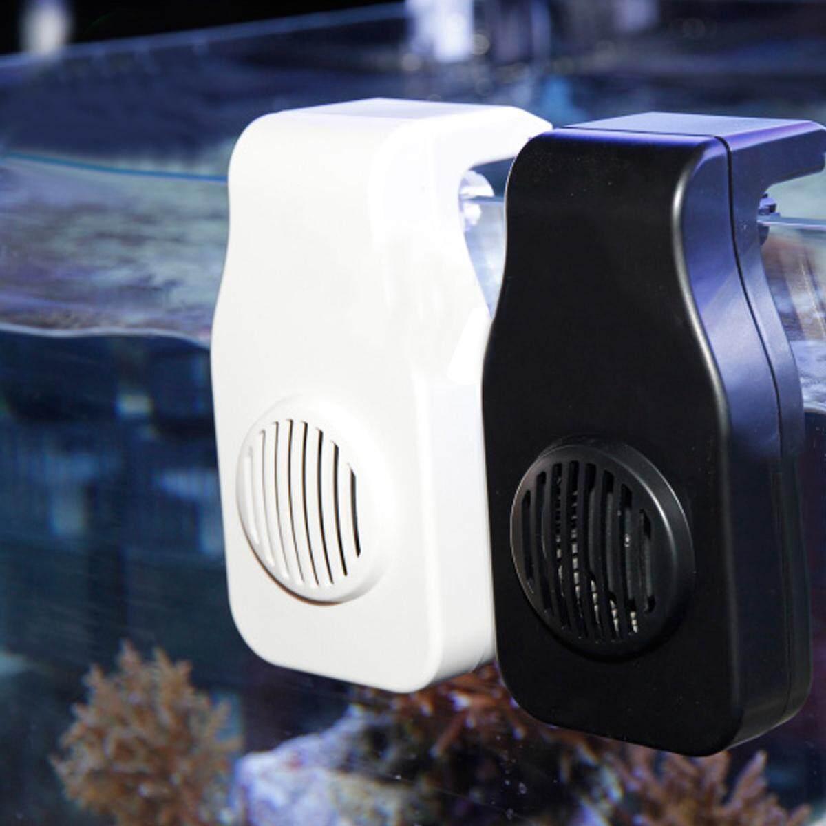 Mini Nano Pendinginan Penggemar Digantung Di Klip USB Pengisian Daya Akuarium Ikan Tangki Dingin Chiller-Internasional