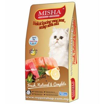 Harga Misha Dry Cat Food Chicken & Tuna 8kg x 2 packs