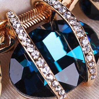 Missing U Women's Hollow Geometric Choker Collar Vintage BohemiaRhinestone Chain Pendant & Necklace Jewelry for Party Holiday - 5