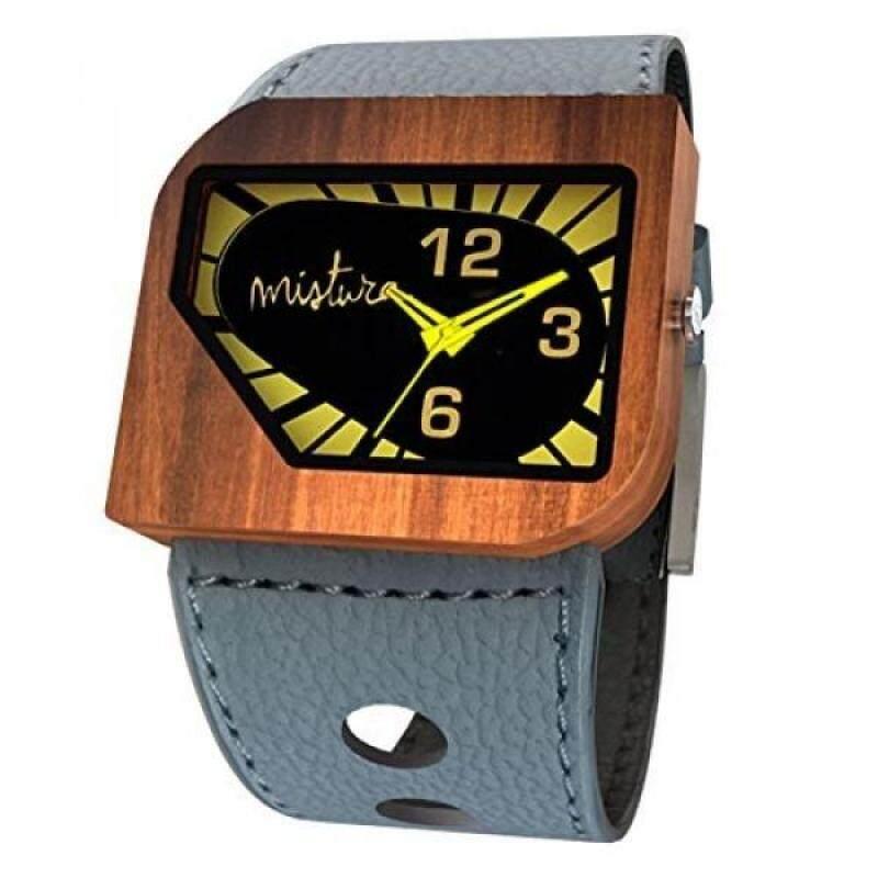 Mistura Avgreyyel Avanti Pui Wood Grey Yellow Neon Watch Malaysia