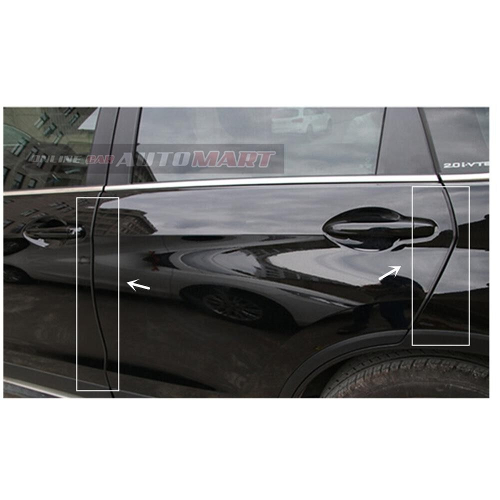 Mitsubishi ASX - 16FT/5M (BLACK) Moulding Trim Rubber Strip Auto Door Scratch Protector Car Styling Invisible Decorative Tape (4 Doors)