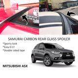 Broz Mitsubishi ASX Samurai Carbon Rear Top Windscreen OEM Glass Spoiler (4.5cm)