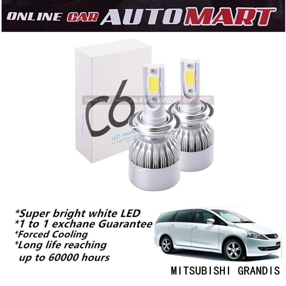 Mitsubishi Grandis-C6 LED Light Car Headlight Auto Head light Lamp 6500k White Light