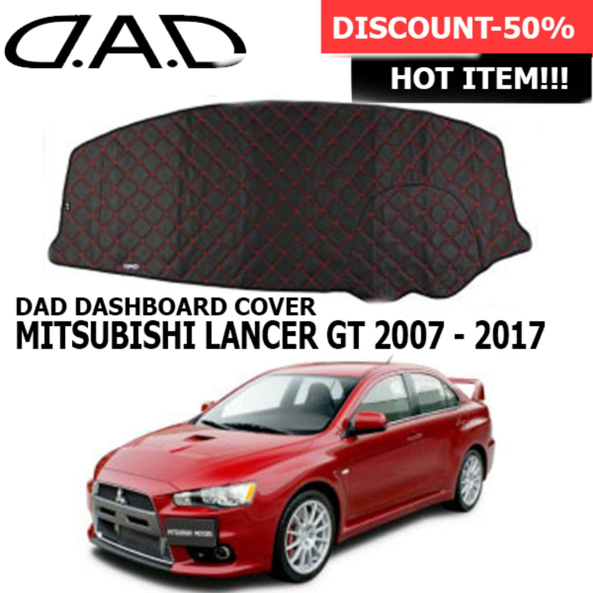 MITSUBISHI LANCER GT 2007 - 2017DAD GARSON VIP Custom Made Non Slip Dashboard Cover Mat (KS1)-Set of 1