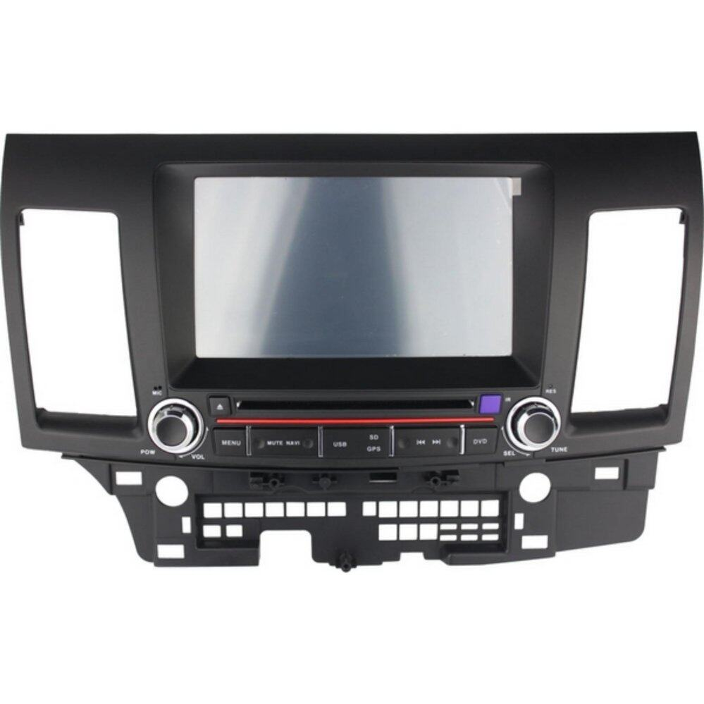 "MITSUBISHI LANCER GT/ PROTON INSPIRA DLAA 8"" Double Din GPS DVD MP3 CD USB SD BLUETOOTH TV Player Free Camera & TV"
