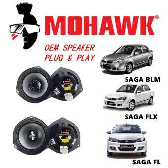 MOHAWK Plug & Play Front & Rear OEM Speaker For PROTON,PERODUA,TOYOTA,HONDA,NISSAN-(Proton Saga BLM/FLX/FL)