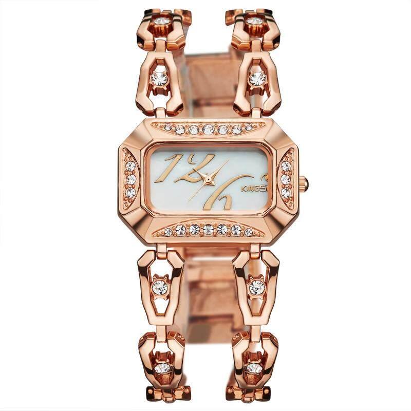 moob 2016 new kingsky twist drill diamond watch watch watch customized wholesale manufacturers of quartz watch (Rose Gold) Malaysia