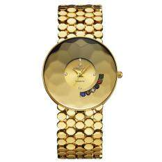 moob Kingsky watch factory mixed color wholesale Gold Ladies Watch quartz watch factory direct sales (Gold) Malaysia