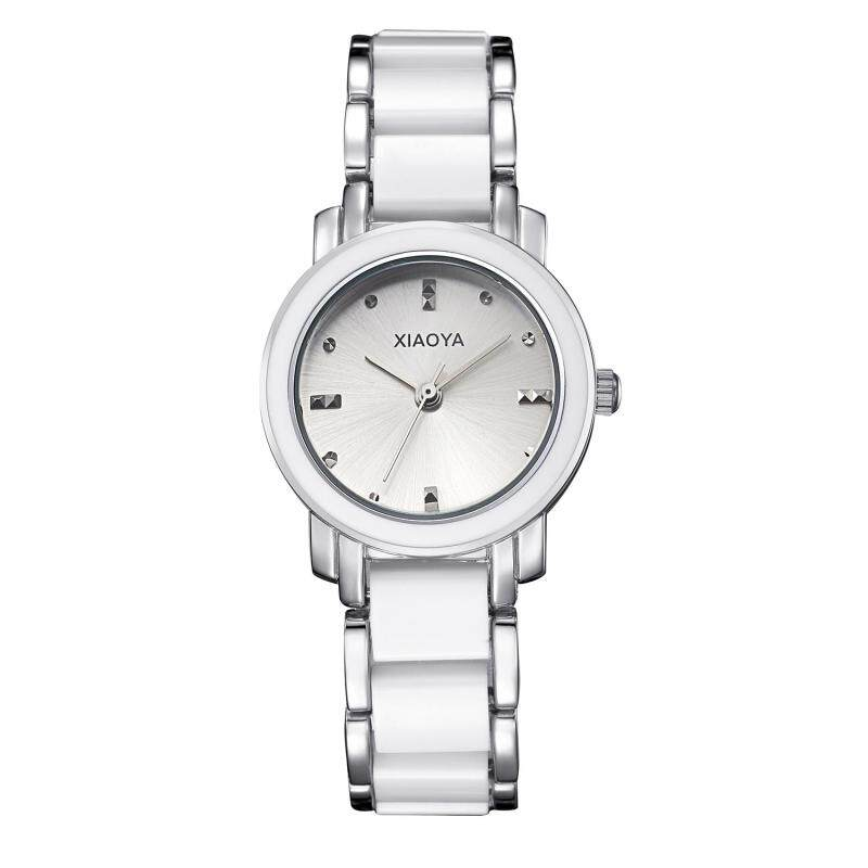 moob Miss Han Ban fashion simple ceramic watches High-quality factory direct cost (Silver) Malaysia