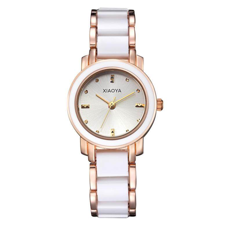 moob Miss Han Ban fashion simple ceramic watches High-quality factory direct cost (White) Malaysia