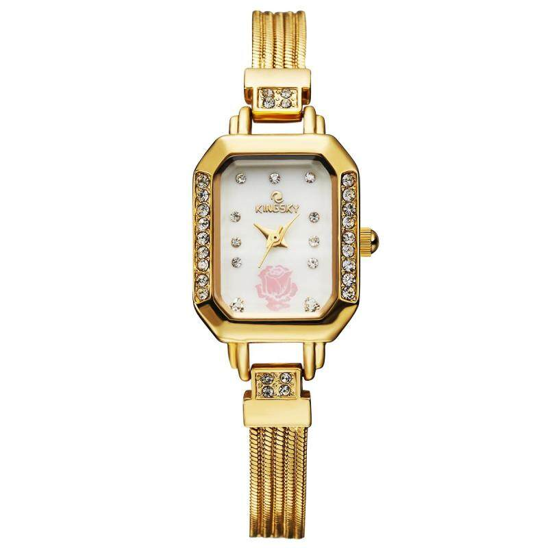 moob MS kingsky quartz watch trade aliexpress wish Dunhuang in support of a generation and the wind (Gold) Malaysia