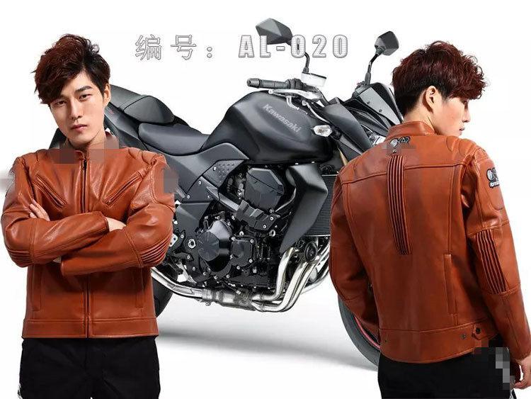 Motocross Jockey Knight/Jumper Jockey Pakaian Jockey Pakaian Jersey AL020 Kulit Pu (Warna: XXXL)-Internasional