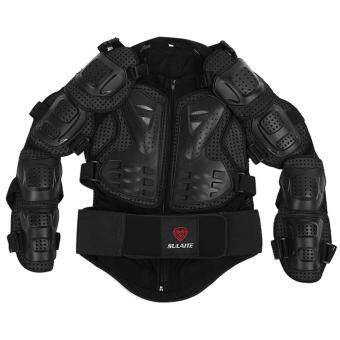Motorcycle Armor Motocross Clothing Jacket Protector (Black)