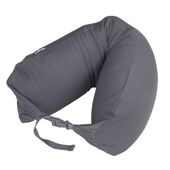 Harga MUJI Inspired Well Fitted (Microbead) Travel Pillow Grey